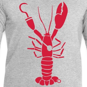 Cancer homard Pirate Tee shirts - Sweat-shirt Homme Stanley & Stella