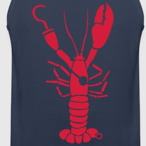 Lobster Pirate cancer T-Shirts - Men's Premium Tank Top
