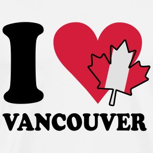 I love vancouver Pullover & Hoodies - Männer Premium T-Shirt
