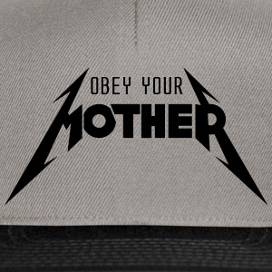 Obey Your Mother_V2 Tee shirts - Casquette snapback