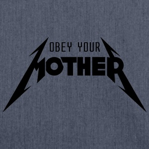 Obey Your Mother_V2 T-shirts - Schoudertas van gerecycled materiaal