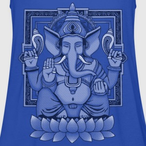 Ganesha Distressed T-Shirts - Women's Tank Top by Bella