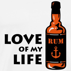 Love Of My Life (Bottle Of Rum) Other - Men's Premium T-Shirt