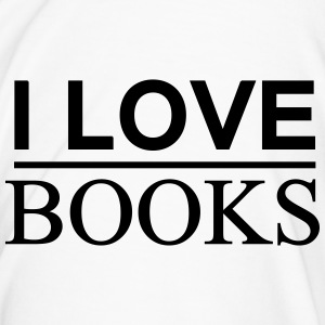 I LOVE BOOKS - Männer Premium T-Shirt