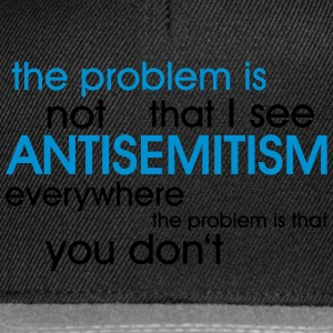 problem: ANTISEMITISM Bags & Backpacks - Snapback Cap