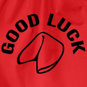 Good Luck Fortune Cookie Camisetas - Mochila saco