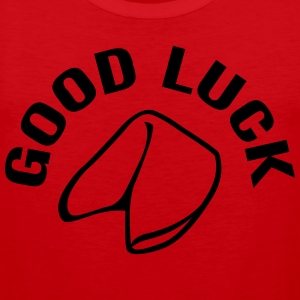 Good Luck Fortune Cookie T-shirts - Herre Premium tanktop