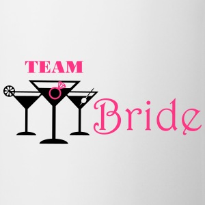 team bride cocktails T-Shirts - Mug