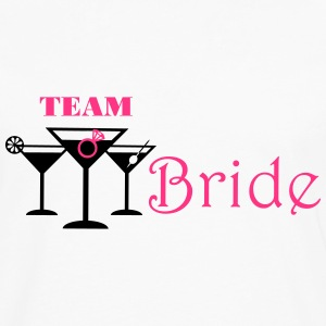 team bride cocktails T-Shirts - Men's Premium Longsleeve Shirt