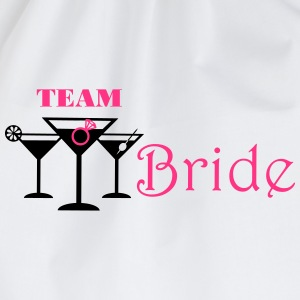 team bride cocktails T-shirts - Gymtas