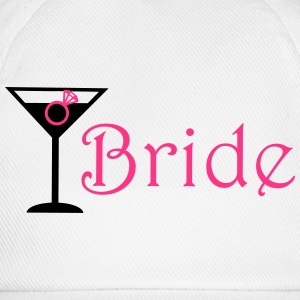 Bride Cocktail Tops - Baseball Cap