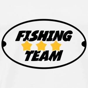 Fishing Team Gensere - Premium T-skjorte for menn