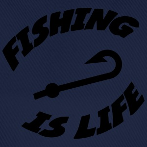 Fishing is life ! T-skjorter - Baseballcap