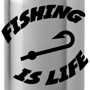 Fishing is life ! Sweatshirts - Drikkeflaske