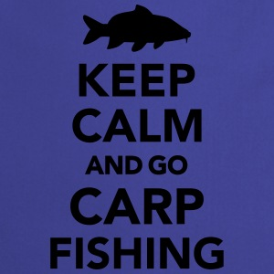 Keep calm and carp fishing T-Shirts - Kochschürze