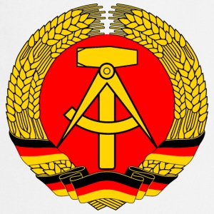 East Germany Crest Flag Wreath GDR DDR Emblem Koszulki - Fartuch kuchenny