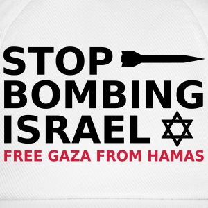 stop bombing israel T-Shirts - Baseball Cap