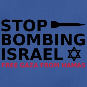 stop bombing israel Bags & Backpacks - Men's Breathable T-Shirt