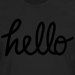 hello T-Shirts - Men's Premium Longsleeve Shirt