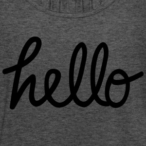 hello T-Shirts - Women's Tank Top by Bella