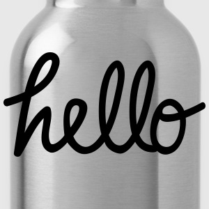 hello T-Shirts - Water Bottle