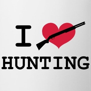 I Love Hunting T-shirts - Kop/krus
