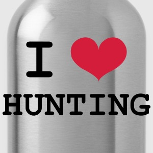 I Love Hunting Camisetas - Cantimplora