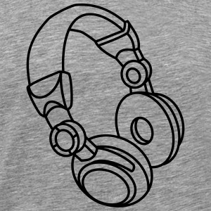 Headphones Tops - Männer Premium T-Shirt