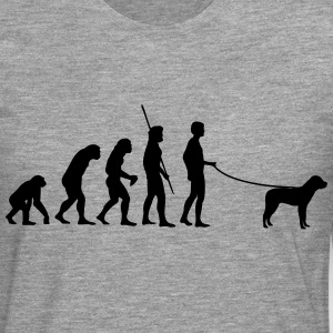 Evolution Dog T-skjorter - Premium langermet T-skjorte for menn