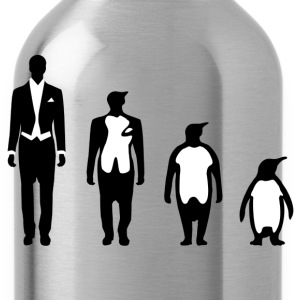Evolution Penguin Magliette - Borraccia