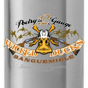 wicked ducks no backgroun Pullover & Hoodies - Trinkflasche