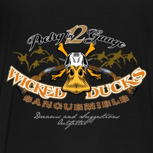 wicked ducks no backgroun Hoodies & Sweatshirts - Men's Premium T-Shirt