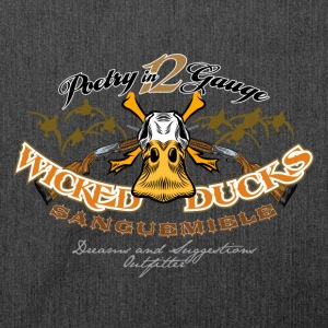 wicked ducks no backgroun Pullover & Hoodies - Schultertasche aus Recycling-Material