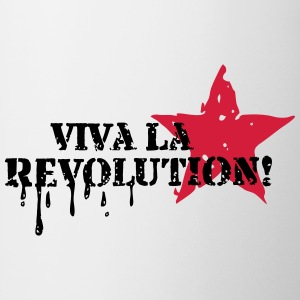 Viva la Revolution, Star, Grunge, Anarchy, Punk,   T-shirts - Mugg