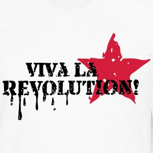 Viva la Revolution, Star, Grunge, Anarchy, Punk,   Tee shirts - T-shirt manches longues Premium Homme
