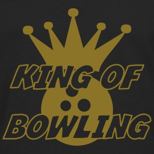 King of Bowling Skjorter - Premium langermet T-skjorte for menn