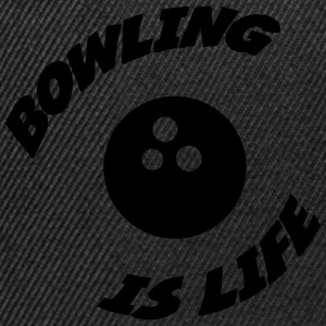 Bowling is life ! Sweats - Casquette snapback