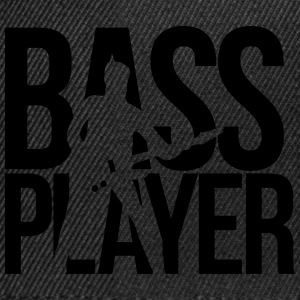 bassiste Tee shirts - Casquette snapback