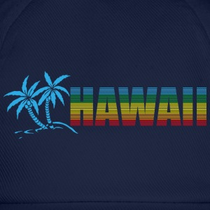 Hawaii and Palms Magliette - Cappello con visiera