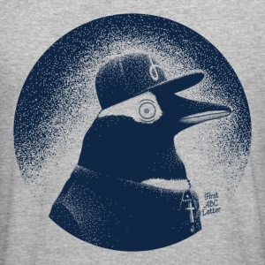 Pinguin dressed in black Sweat-shirts - Tee shirt près du corps Homme