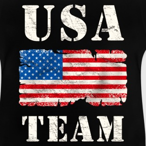 usa team grunge flag Shirts - Baby T-Shirt