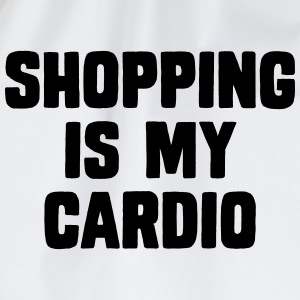 Shopping Is My Cardio Magliette - Sacca sportiva