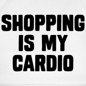 Shopping Is My Cardio Magliette - Cappello con visiera