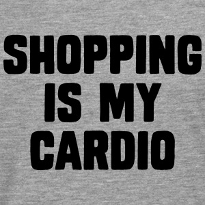 Shopping Is My Cardio Tee shirts - T-shirt manches longues Premium Homme