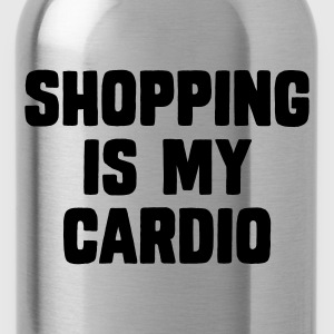 Shopping Is My Cardio Camisetas - Cantimplora
