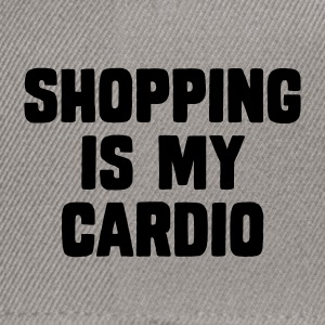 Shopping Is My Cardio T-Shirts - Snapback Cap