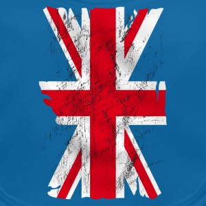 united kingdom grunge flag 02 Tee shirts - Bavoir bio Bébé