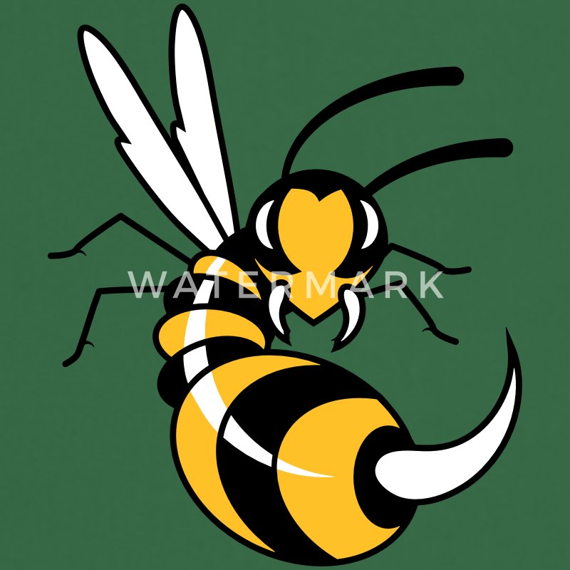 Wasp with giant sting   Aprons - Cooking Apron