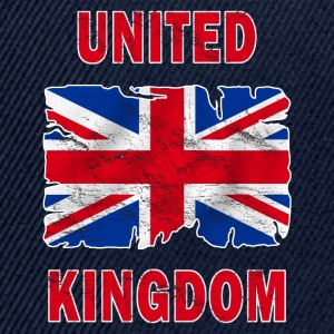 united kingdom grunge flag Hoodies & Sweatshirts - Snapback Cap
