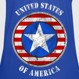 united states grunge style T-Shirts - Women's Tank Top by Bella